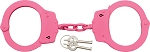 UZIHCCPK UZI Handcuffs Pink finish.